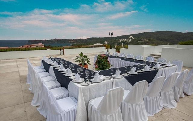 Hotel Park Royal Huatulco, espacios para eventos