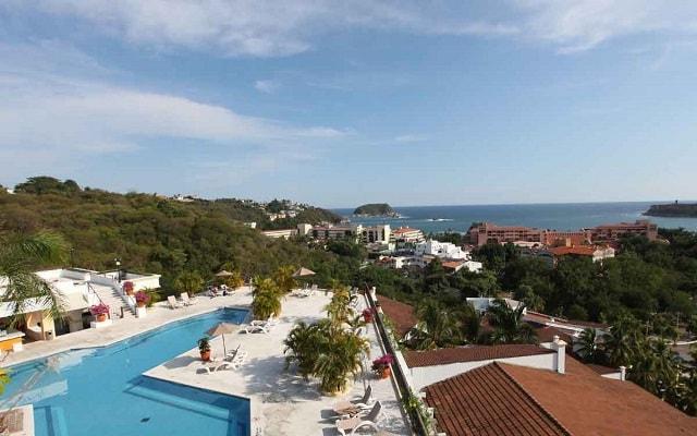 Hotel Park Royal Huatulco, disfruta de las vistas a la Bahía