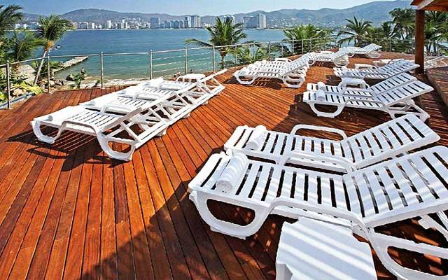 Hotel Park Royal Acapulco, relájate en el solárium