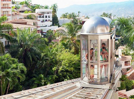 Hotel Park Royal Acapulco, Teleférico