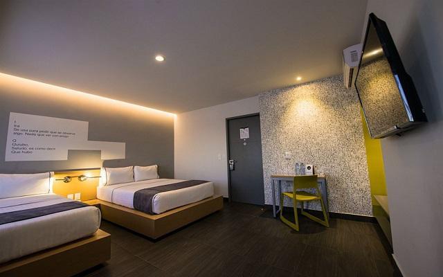 Hotel Perla Central, habitaciones bien equipadas