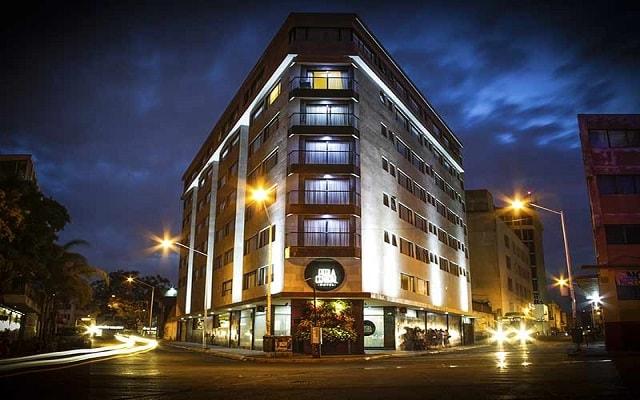 Hotel Perla Central, buena ubicación a pasos del Centro Histórico