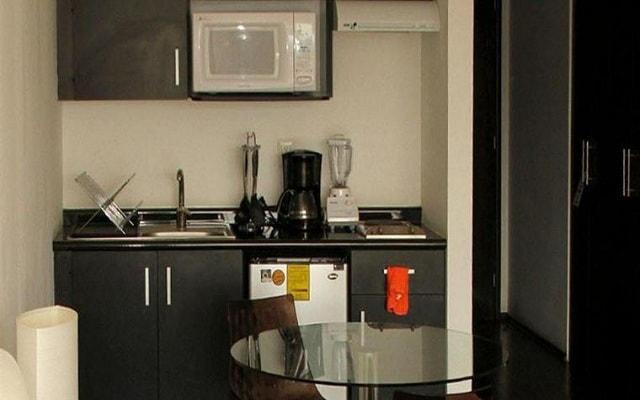 Hotel Pia Suites, habitaciones bien equiadas