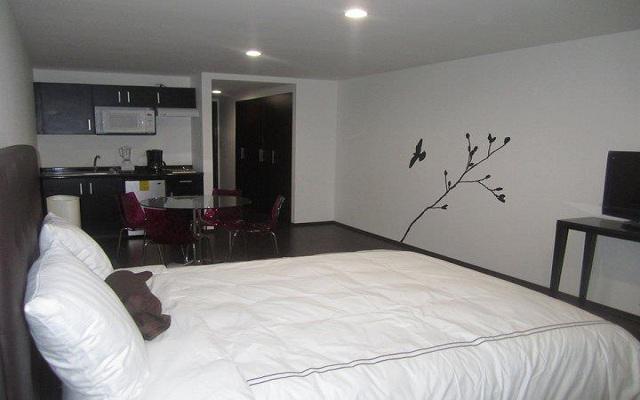 Hotel Pia Suites, habitaciones decoradas con un estilo minimalista