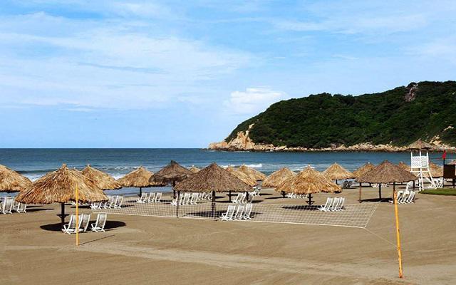Hotel Pierre Mundo Imperial Riviera Diamante Acapulco, amenidades en la playa