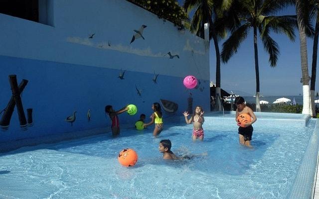 Hotel Playa Los Arcos Beach Resort and Spa, chapoteadero