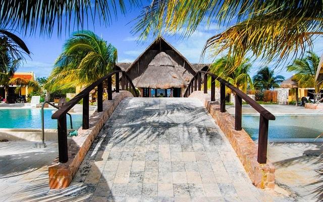 Hotel Playa Maya en Celestún