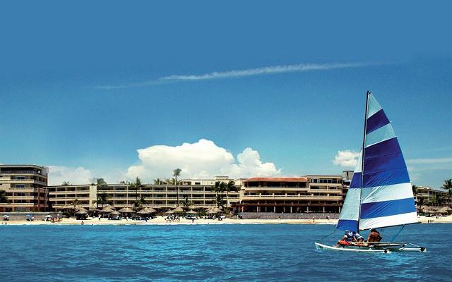 Hotel Playa Mazatlán, hermosa vista desde la playa
