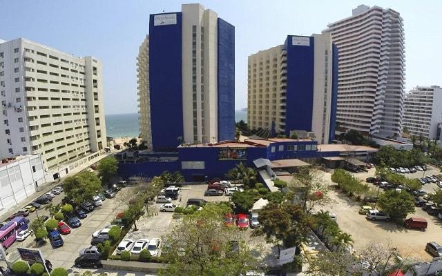 Hotel Playa Suites Acapulco, buena ubicación