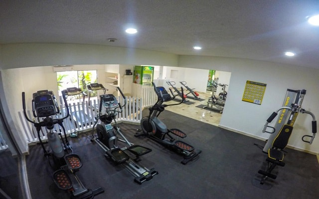 Hotel Playa Suites Acapulco, gimnasio