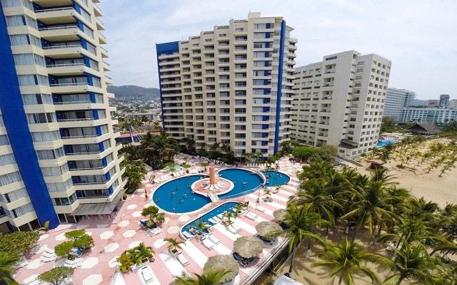 Hotel Playa Suites Acapulco, vista panorámica