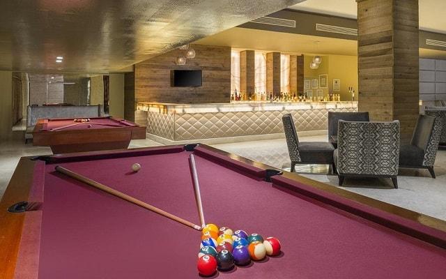 Hotel Playacar Palace, diviértete con un juego de billar
