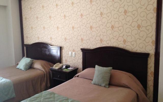 Habitación estándar del Hotel Plaza Campeche