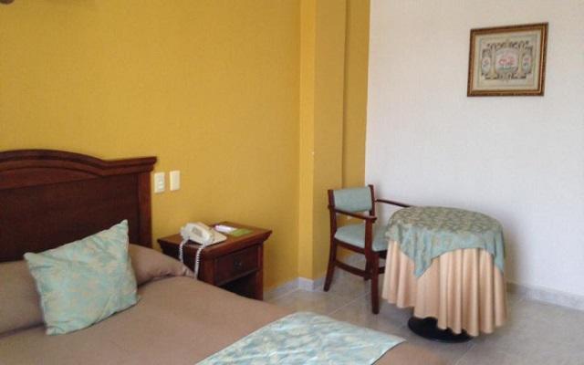 Habitación estándar sencilla del Hotel Plaza Campeche