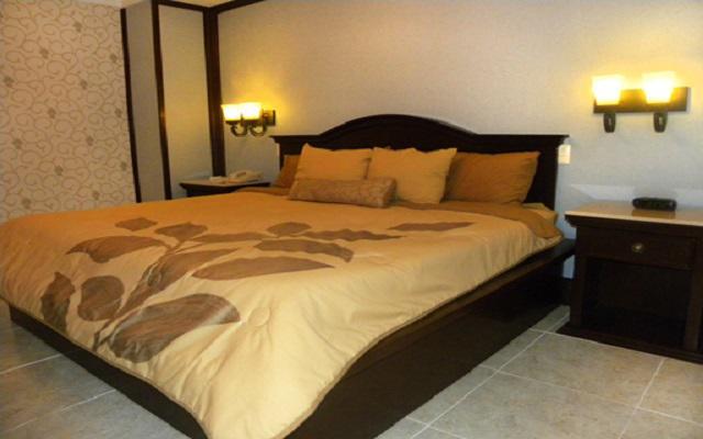 Habitación Junior Suite sencilla del Hotel Plaza Campeche