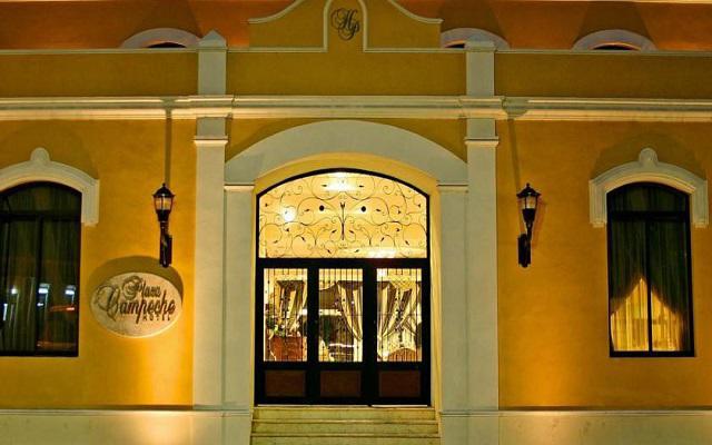 Hotel Plaza Campeche en Campeche Ciudad