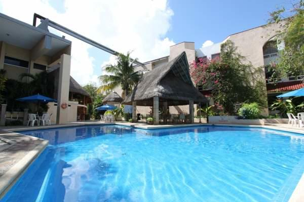Alberca Hotel Plaza Caribe Cancún