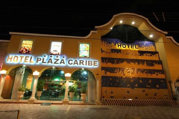 Entrada principal Hotel Plaza Caribe Cancún