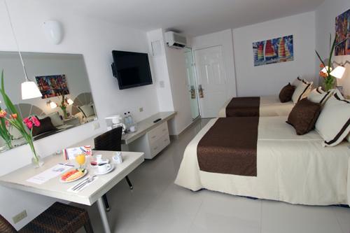 Habitaciones Hotel Plaza Caribe Cancún