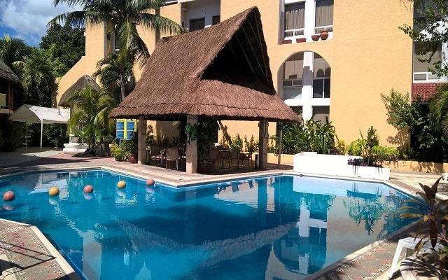 Hotel Plaza Caribe Cancún, disfruta de su alberca al aire libre