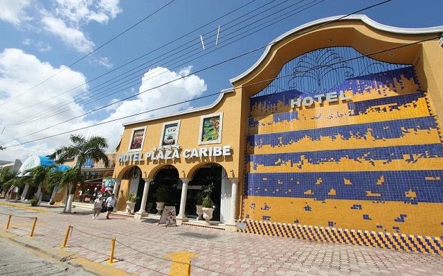 Hotel Plaza Caribe Cancún, buena ubicación