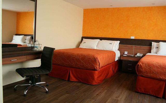 Hotel Plaza Garibaldi, amplias y luminosas habitaciones