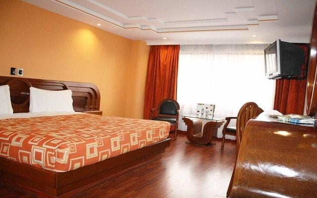 Hotel Plaza Solís, habitaciones bien equipadas
