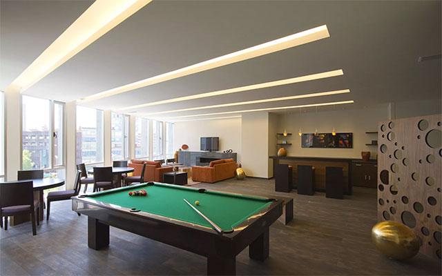 Hotel Plaza Suites México City 2404, diviértete con un juego de billar