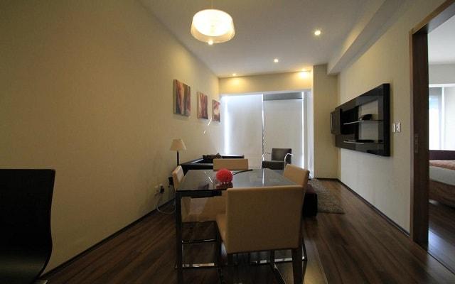 Hotel Plaza Suites México City 2404, habitaciones tipo apartamento