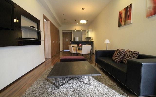Hotel Plaza Suites México City 2404, habitaciones bien equipadas