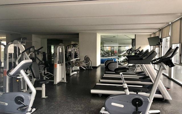 Hotel Plaza Suites México City 2404, gimnasio