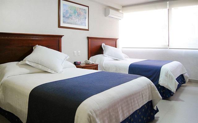 Hotel Porto Alegro, amplias y luminosas habitaciones