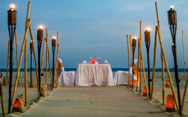 Hotel Posada Real Los Cabos, disfruta una cena romántica