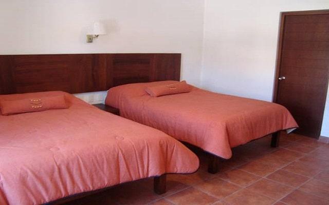 Hotel Posada Santa Rita, amplias y luminosas habitaciones