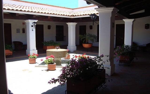Hotel Posada Santa Rita, patio
