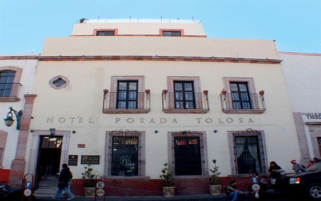Hotel Posada Tolosa en Zacatecas Ciudad