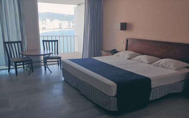 Hotel El Presidente Acapulco, habitaciones con vistas hermosas