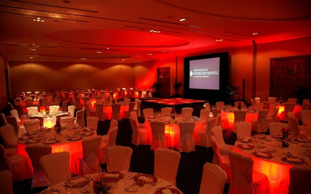 Hotel Presidente Intercontinental Cancún Resort, salones equipados para tu evento