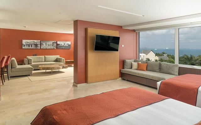 Hotel Presidente Intercontinental Cancún Resort, habitaciones bien equipadas