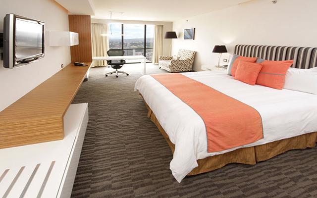 Hotel Presidente Intercontinental Guadalajara, habitaciones bien equipadas