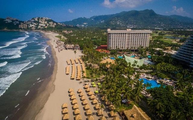 Hotel Princess Mundo Imperial Riviera Diamante Acapulco, vista aérea