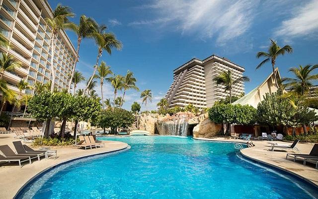 Hotel Princess Mundo Imperial Riviera Diamante Acapulco, disfruta de su alberca al aire libre