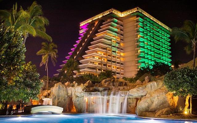 Hotel Princess Mundo Imperial Riviera Diamante Acapulco, hermosa vista nocturna