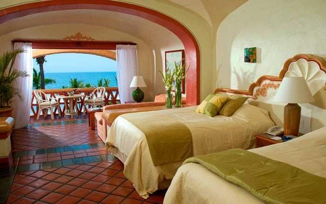 Hotel Pueblo Bonito Mazatlán dispone de habitaciones cómodas