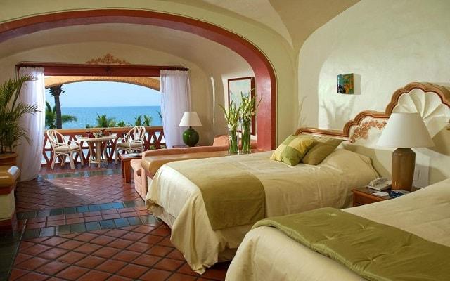 Hotel Pueblo Bonito Mazatlán, amplias y luminosas habitaciones