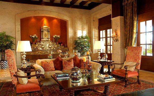Hotel Pueblo Bonito Sunset Beach Resort and Spa, espacios decorados con obras de arte