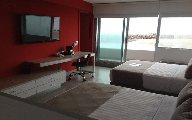 Hotel Punta Azul, habitaciones con todas las amenidades