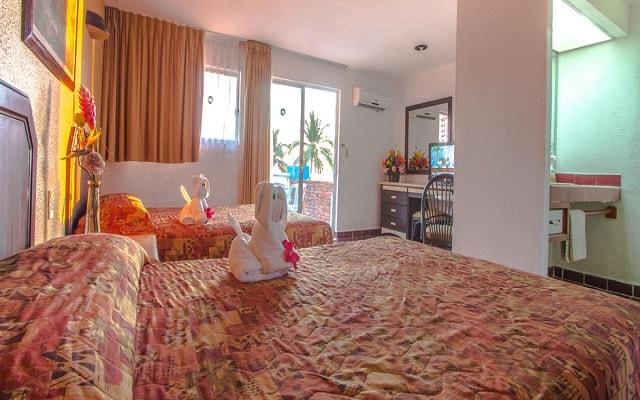 Hotel Qualton Club Ixtapa, habitaciones bien equipadas