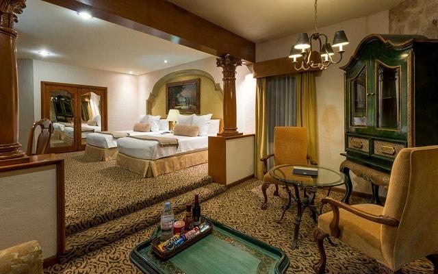 Hotel Quinta Real Guadalajara, descansa en la comodidad de tu habitación