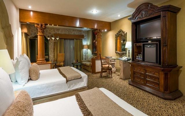 Hotel Quinta Real Guadalajara, habitaciones bien equipadas